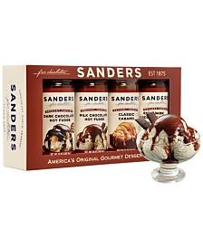 Sanders 4 Pack Sundae Gift Set
