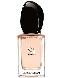 Receive a FREE Deluxe Mini with any large spray purchase from the Giorgio Armani Sì Fiori fragrance collection