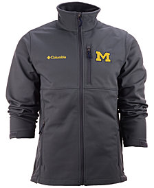 Columbia Men's Michigan Wolverines Ascender Softshell Jacket