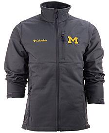 Columbia Men's Michigan Wolverines Ascender Softshell Jacket