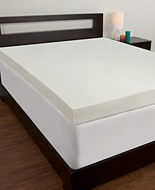 4'' Memory Foam Queen Mattress Topper