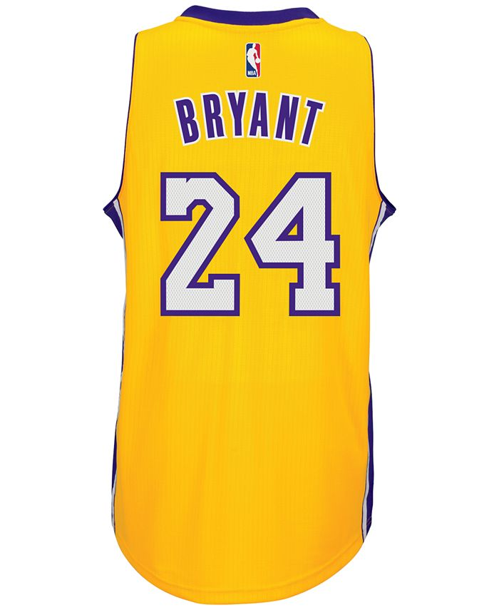 adidas Men's Kobe Bryant Los Angeles Lakers Swingman Jersey ...