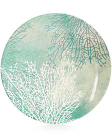 MADHOUSE by Michael Aram Ocean Melamine Coral Dinner Plate