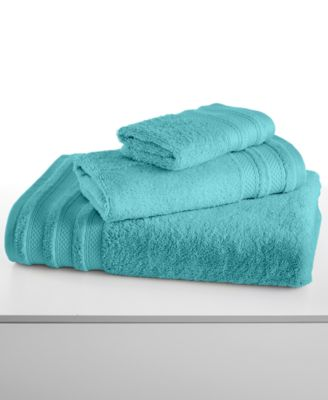 "Image of CLOSEOUT! Charter Club Classic Pima Cotton 30"" x 56"" Bath Towel, Only at Macy's"