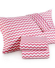 Chevron King 4-pc Sheet Set, 300 Thread Count 100% Cotton