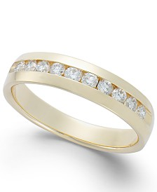 Men's Diamond Band in 14k Gold (1/2 ct. t.w.)