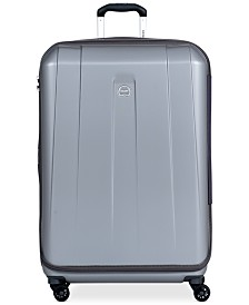 "CLOSEOUT! Delsey Helium Shadow 3.0 29"" Expandable Hardside Spinner Suitcase, In Blue, Created for Macy's"
