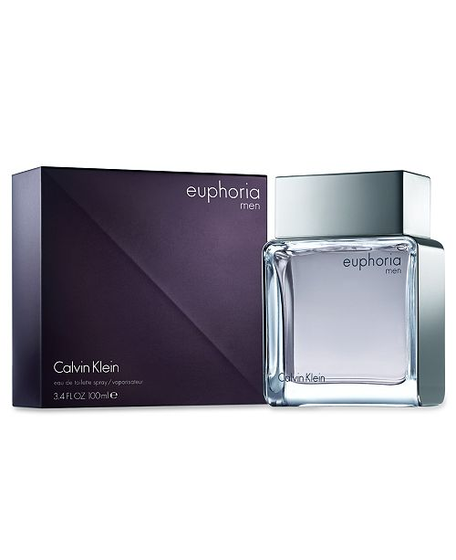 Calvin Klein euphoria men Eau de Toilette Spray, 3.4 oz - Shop All ... e8bce9ef23