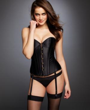 L'Agent by Agent Provocateur Penelope Corset L005-26 plus size,  plus size fashion plus size appare