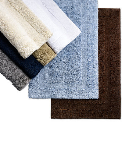Bath Rugs And Mats Macys - Navy and white bath mat for bathroom decorating ideas