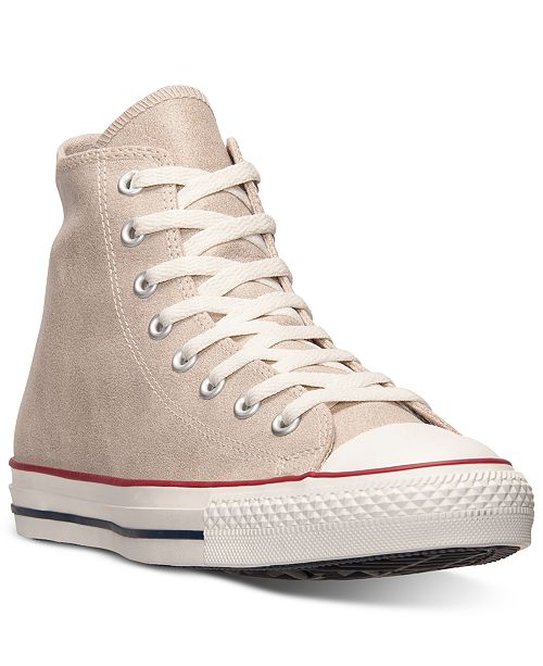 Converse Men's All Star Vintage Leather Hi Casual Sneakers from Finish Line