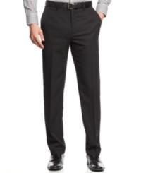 Alfani Flat-Front Slim-fit Herringbone Wrinkle-Resistant Pants Deals