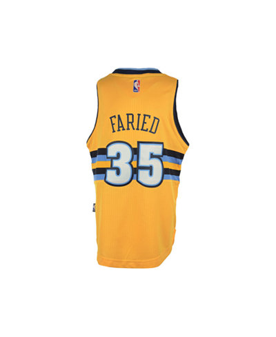 adidas Kids' Kenneth Faried Denver Nuggets Swingman Jersey, Big Boys (8-20)