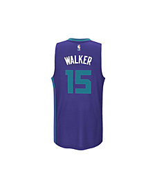 adidas Kids' Kemba Walker Charlotte Hornets Swingman Jersey, Big Boys (8-20)