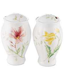 "Lenox ""Butterfly Meadow"" Salt & Pepper Set"