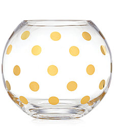 kate spade new york Pearl Place Rose Bowl Vase