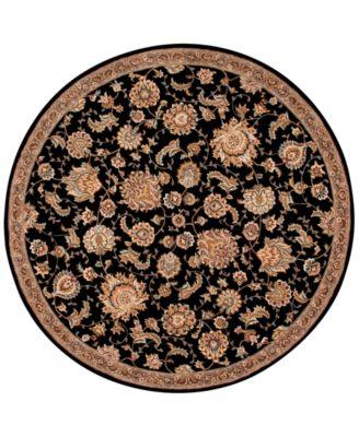 Wool & Silk 2000 2360 6' Round Rug