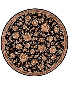 Nourison Wool & Silk 2000 2360 8' Round Rug