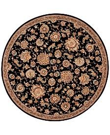Nourison Wool & Silk 2000 2360 4' Round Rug