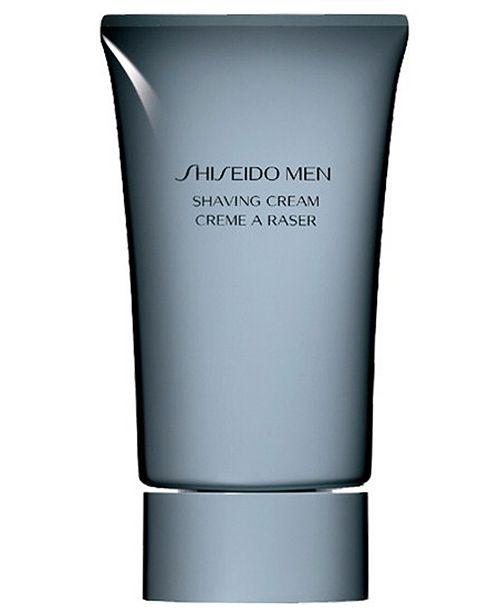 Shiseido Men Shaving Cream, 3.6 oz.