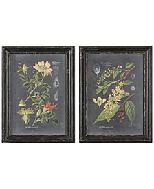 Uttermost Wall Art, Midnight Botanicals