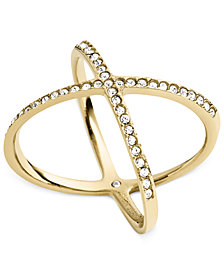 Michael Kors Circle X Ring