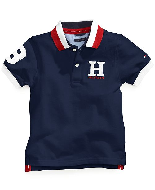 1eb25d39921 Tommy Hilfiger Big Boys Husky Matt Polo & Reviews - Shirts & Tees ...