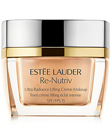 Estée Lauder Re-Nutriv Ultra Radiance Lift Cream Makeup, 1 oz.