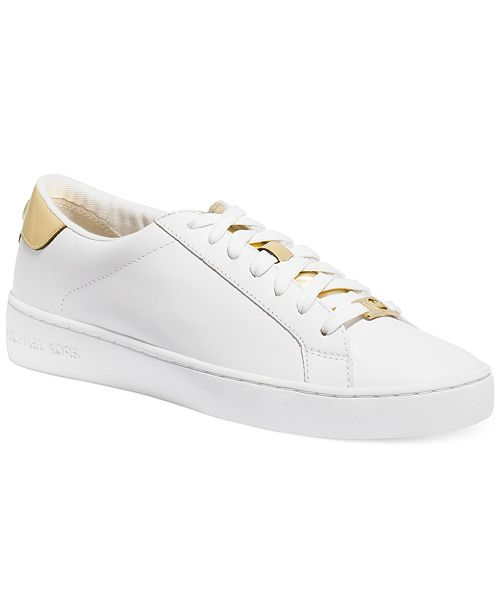 ce89e2d2af8 Michael Kors Irving Lace-Up Sneakers   Reviews - Sneakers - Shoes ...