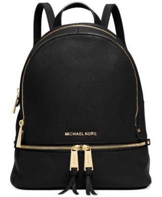 00eefefca3f1d4 michael kors black bag with silver hardware michael kors backpack ...