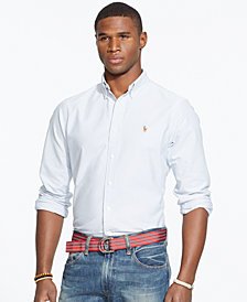 Polo Ralph Lauren Men's Long-Sleeve Multi-Striped Oxford Shirt
