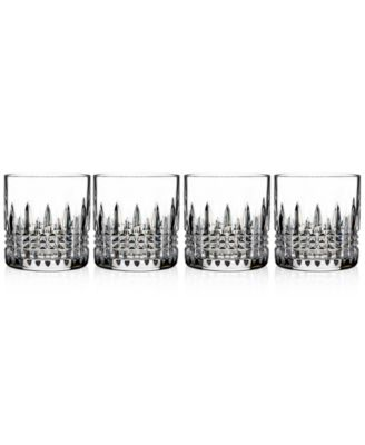 Lismore Diamond Straight Sided Tumblers, Set of 4
