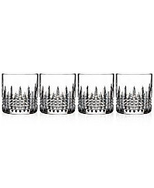 Waterford Lismore Diamond Straight Sided Tumblers, Set of 4