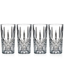 Marquis by Waterford Markham Highball Glasses, Set of 4