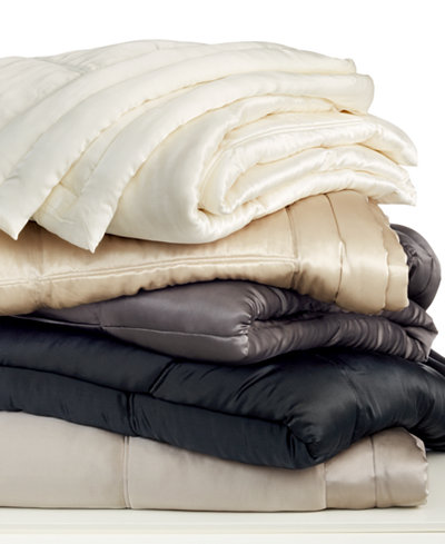 CLOSEOUT! Donna Karan Silk Quilt Collection