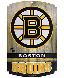 Wincraft Boston Bruins Wood Sign