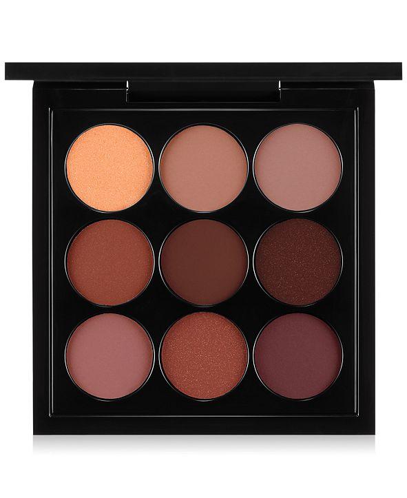 MAC x 9 Eye Shadow Palettes