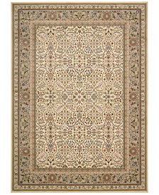 "kathy ireland Home Antiquities American Jewel Ivory 3'9"" x 5'9"" Area Rug"
