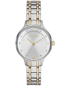 Women's Anita Two-Tone Stainless Steel Bracelet Watch 30mm SKW2321