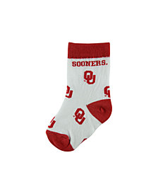 For Bare Feet Babies' Oklahoma Sooners Socks