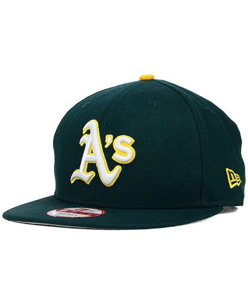 052f9318bebf9e New Era Oakland Athletics 2-Tone Link 9FIFTY Snapback Cap & Reviews ...