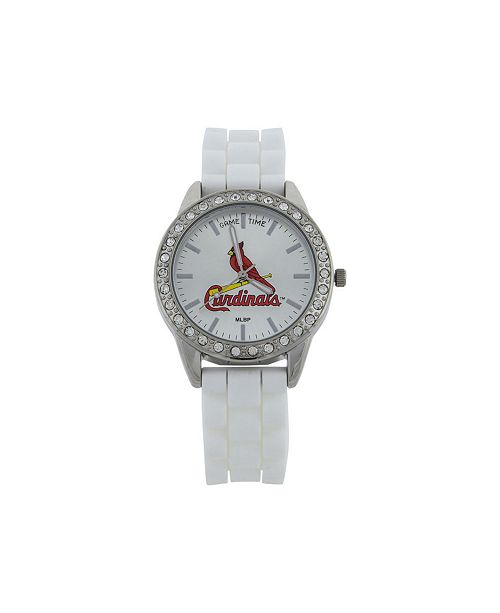 Game Time Women's St. Louis Cardinals Frost Watch