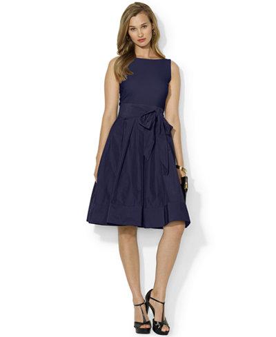 Lauren Ralph Lauren Pleated Cocktail Dress Dresses