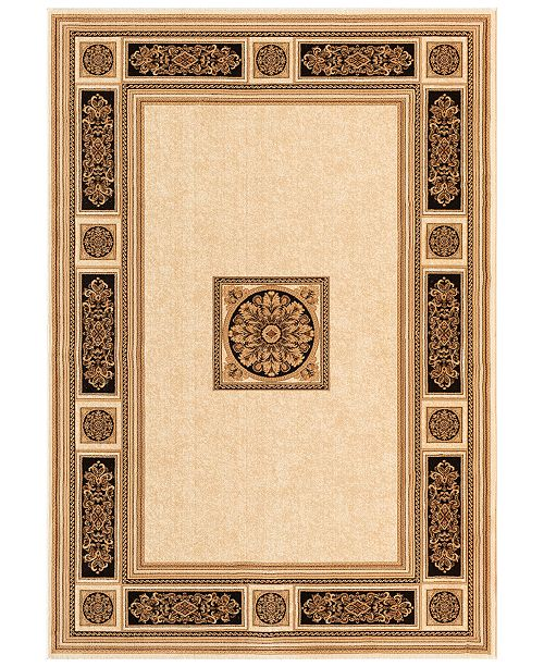 """Kenneth Mink CLOSEOUT! Warwick Chateaux Ivory 3'3"""" x 5'3"""" Area Rug"""