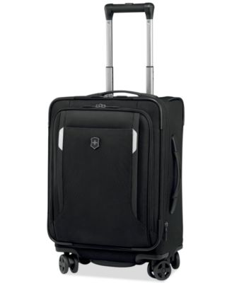 """CLOSEOUT! Victorinox Werks Traveler 5.0 20"""" Carry-On Expandable Dual Caster Spinner Suitcase"""