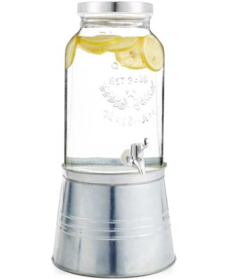 Ice Bucket Drink Dispenser with Stand, Created for Macy's