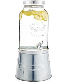 Ice Bucket Drink & & Beverage Dispenser with Stand, Created for Macy's