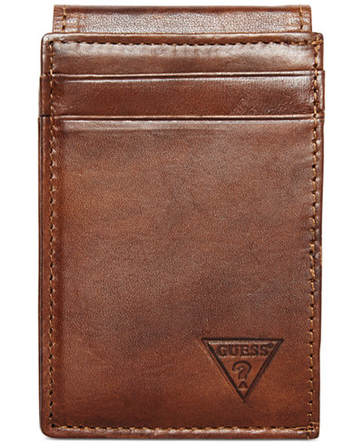 Guess Naples Front Pocket Men S Leather Wallet All