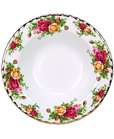 "Old Country Roses 8"" Rim Soup Bowl"