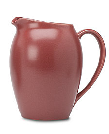 "Noritake ""Colorwave Raspberry"" Pitcher, 60 oz"